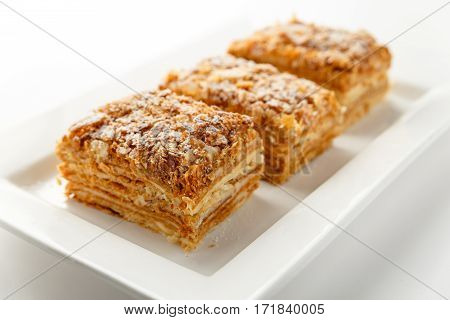 napoleon puff pastry Puff pastry and napoleon cakes these classic french napoleons feature layers of flaky dough filled with silky vanilla pastry cream it's a stunning.