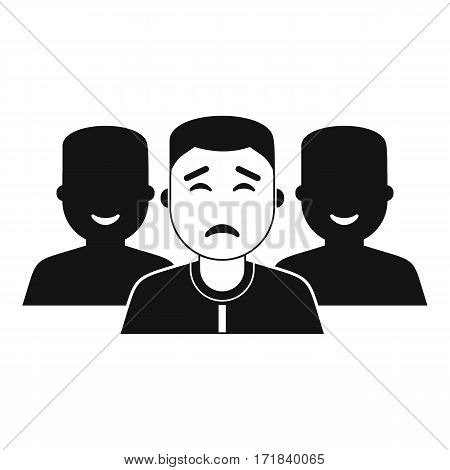 People group icon. Simple illustration of people group vector icon for web
