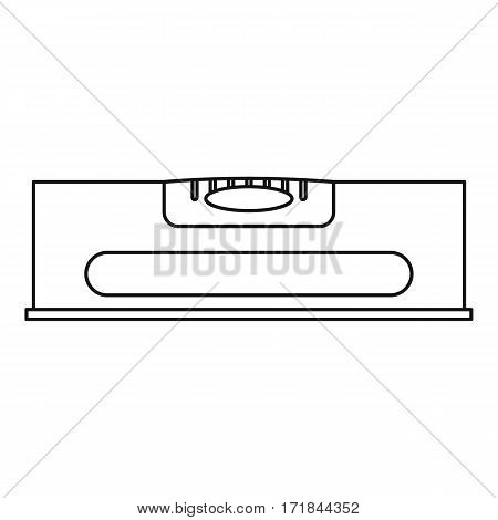 Level measurement icon. Outline illustration of level measurement vector icon for web