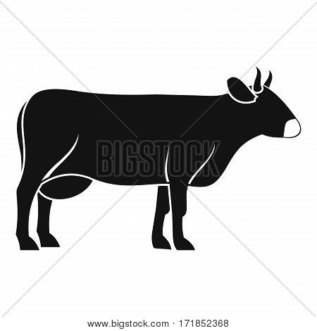 Cow icon. Simple illustration of cow vector icon for web