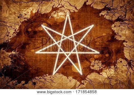 elven fairy star, hepatagram