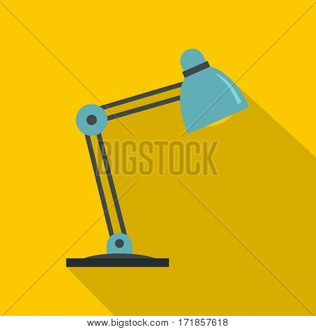 Table lamp icon. Flat illustration of table lamp vector icon for web