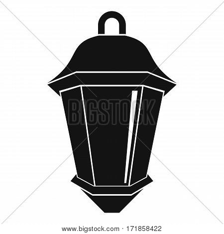 Street light icon. Simple illustration of street light vector icon for web