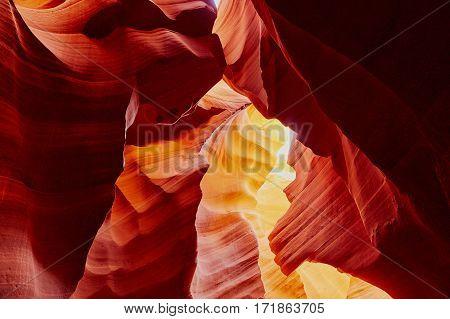 Lower Antelope Canyon Near Page, Arizona, Usa