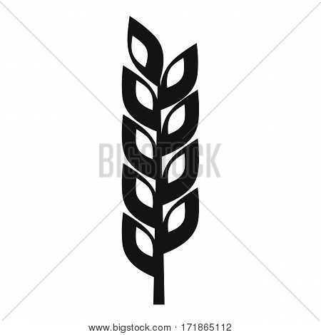 Grain spike icon. Simple illustration of grain spike vector icon for web