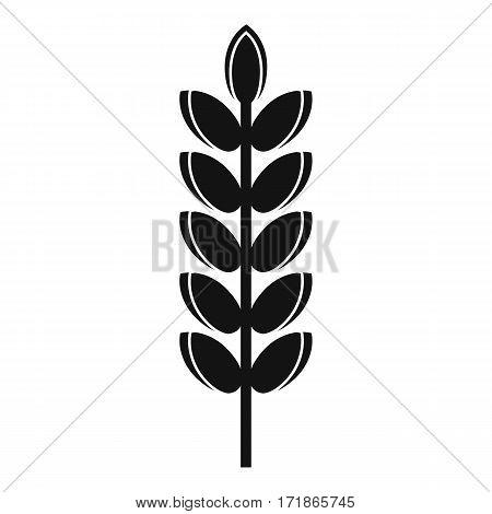 Big grain spike icon. Simple illustration of big grain spike vector icon for web