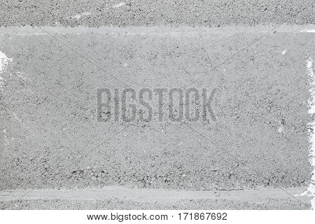 Ceramsite Concrete Block Close-up. Background.
