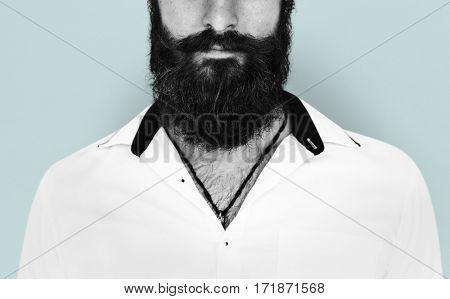 Man Facial Hair Mustache Beard