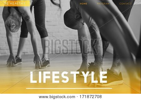 Lifestyle of people leisure and exercise activity