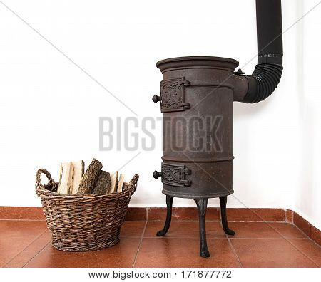 Vintage House Cooking Stove In A Kitchen