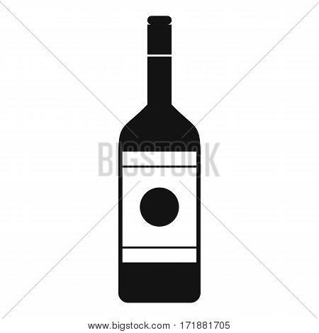 Vodka icon. Simple illustration of vodka vector icon for web