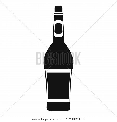 Design bottle icon. Simple illustration of design bottle vector icon for web