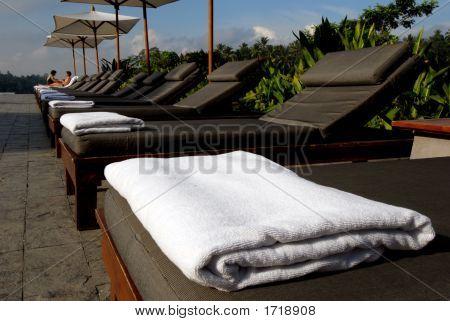 Pool Side Beach Towel