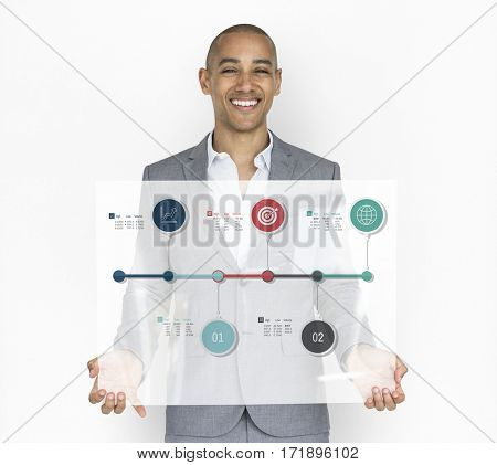Timeline Infographic Information Flowchart Process