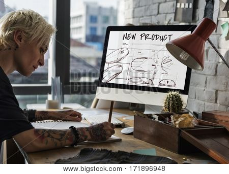 Designer Ideas Creation Concept