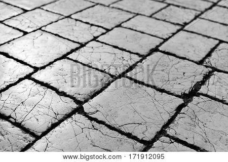 cracked pavement texture grunge retro, texture, background