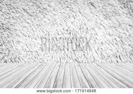 Carpet Texture Surface With Wood Terrace