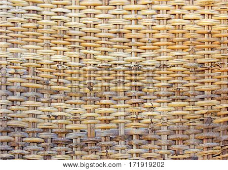 old or decay bamboo handmade craft saw pattern texture background