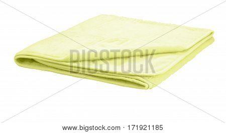 Folded Blanket Isolated