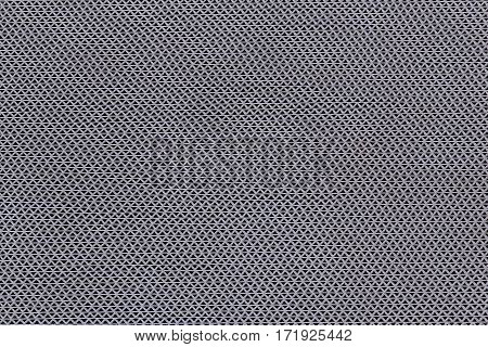 The close up background and texture doormat