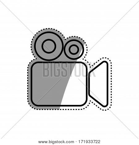 Cinema camcorder symbol icon vector illustration graphic design