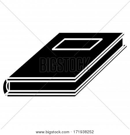 notebook study educational pictogram vector illustration eps 10