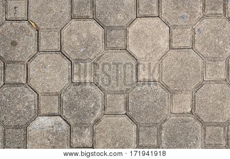 Background with a pattern and texture of cobble stones