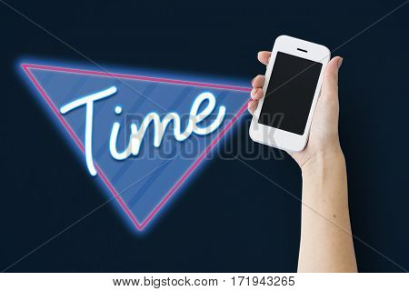 Time Minutes Duration Graphic Word
