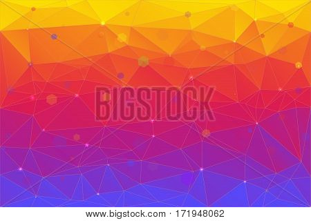 A bstract background consisting of triangles. Pattern triangles background for your design, printing and presentations