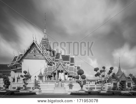 Temple of the Emerald Buddha Thailand Bangkok Wat Phra Kaew; The royal grand palace