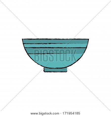 Food deep plate icon vector illustration graphic design
