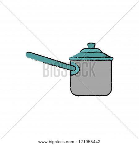 Kitchen cooker pressure icon vector illustration graphic design