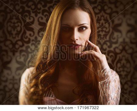 Woman Vogue Portrait