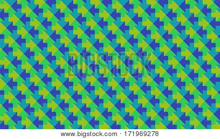 abstract low poly mosaic colorful green arrows texture background
