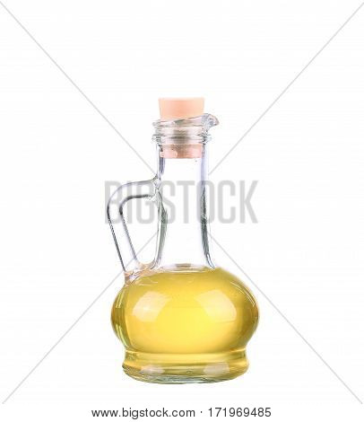 Olive Oil Bottle On White (includes Clipping Path)