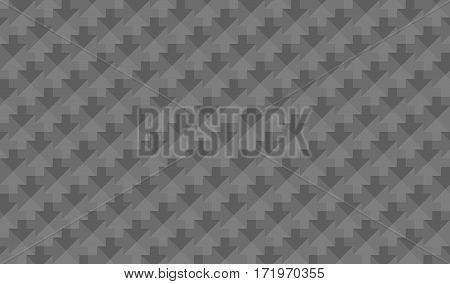 abstract low poly mosaic grey arrows texture background