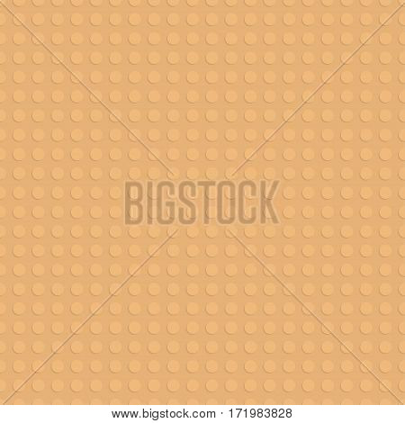 Plastic construction plate. Seamless pattern background. Vector illustration