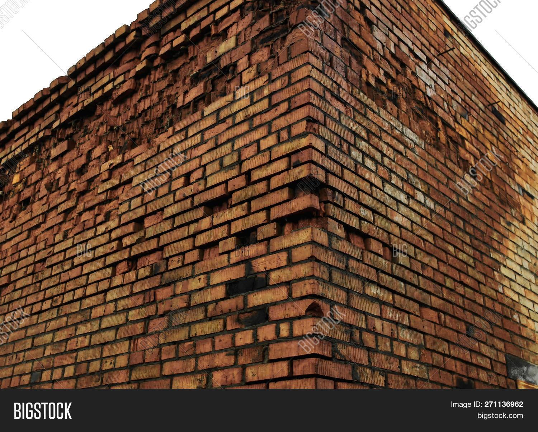 Brick Wall Corner Image Photo Free Trial Bigstock