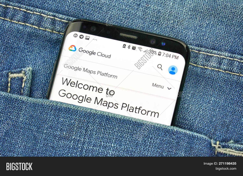 Google Maps Api On Image Photo Free Trial Bigstock