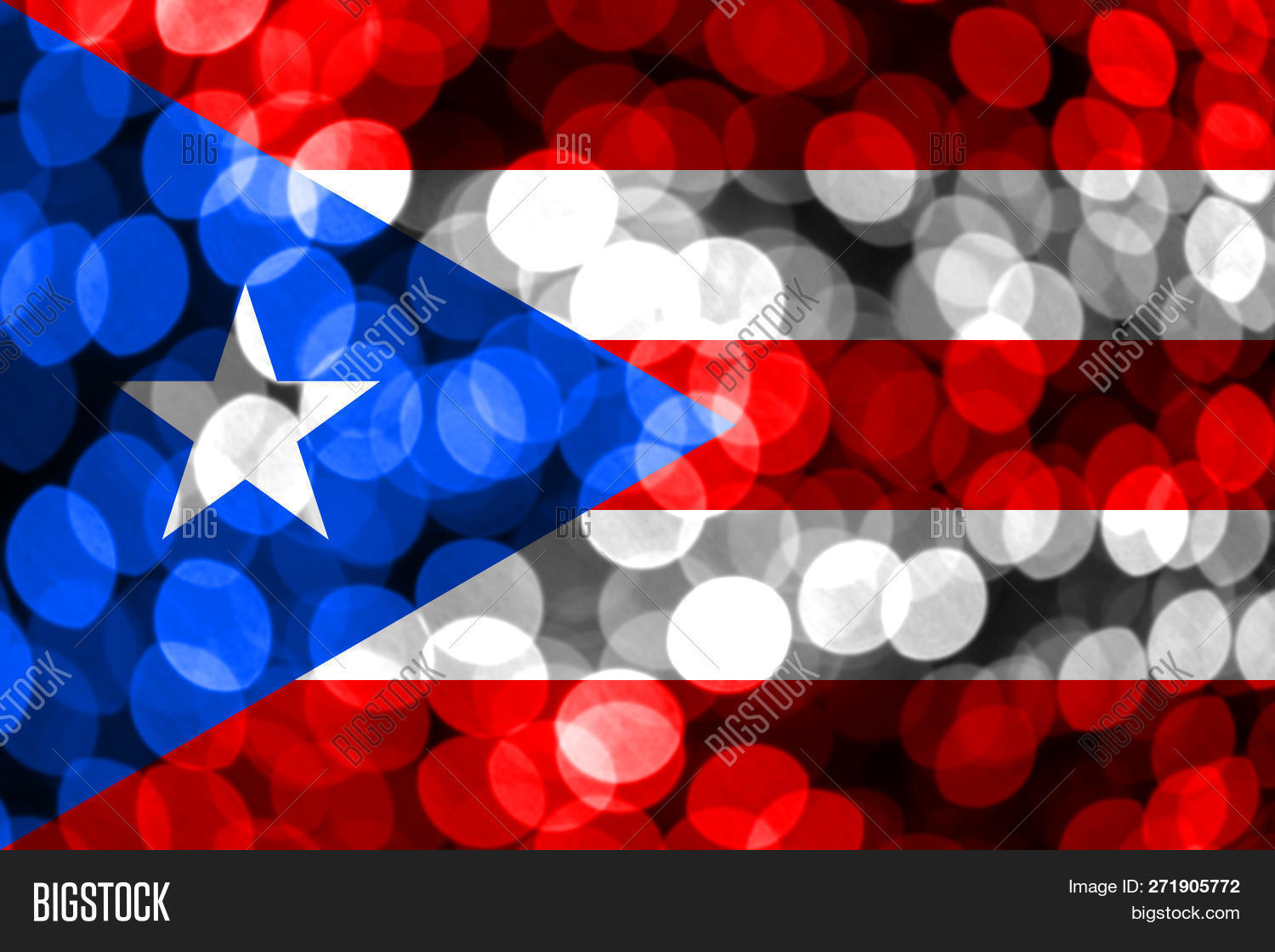 Puerto Rico Abstract Image Photo Free Trial Bigstock