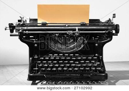 Antike Typ Schriftsteller.
