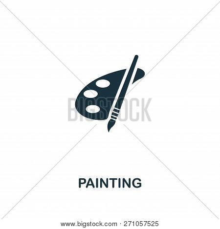 Painting Icon. Premium Style Design From Design Ui And Ux Icon Collection. Pixel Perfect Painting Ic