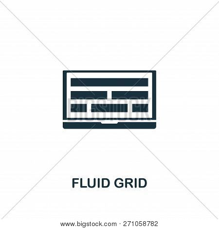 Fluid Grid Icon. Premium Style Design From Design Ui And Ux Icon Collection. Pixel Perfect Fluid Gri