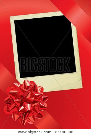 Holiday Photo (vector). In the gallery also available XXL jpeg image made from this vector