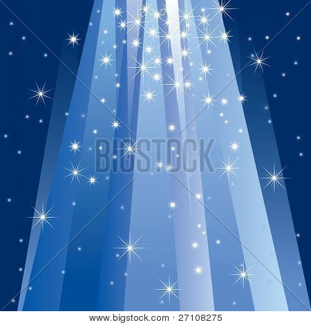 Magic Light (vector). In the gallery also available XXL jpeg image made from this vector