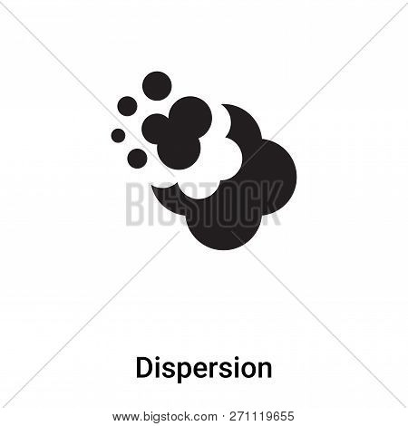 Dispersion Icon In Trendy Design Style. Dispersion Icon Isolated On White Background. Dispersion Vec