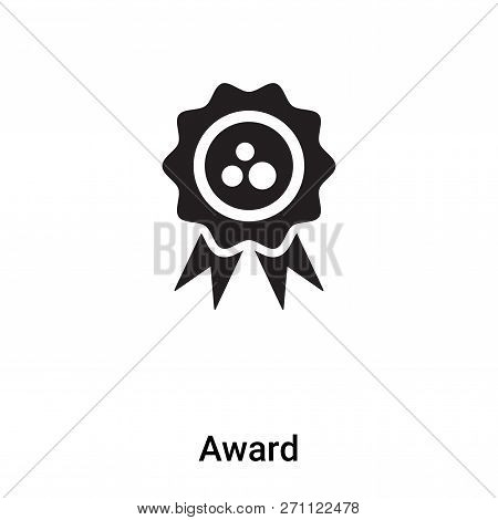 Award Icon In Trendy Design Style. Award Icon Isolated On White Background. Award Vector Icon Simple