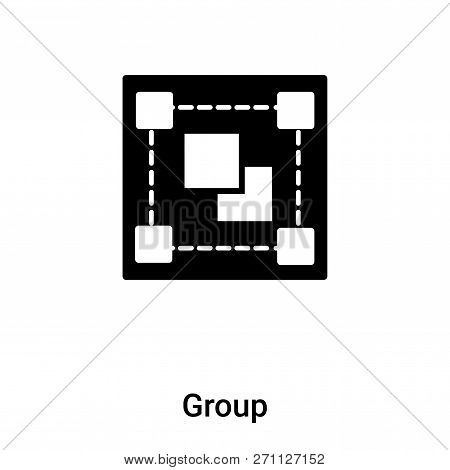 Group Icon In Trendy Design Style. Group Icon Isolated On White Background. Group Vector Icon Simple