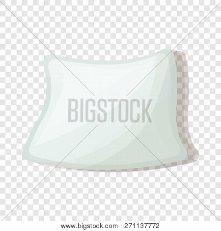 Soft Pillow Icon. Cartoon Of Soft Pillow Vector Icon For Web Design