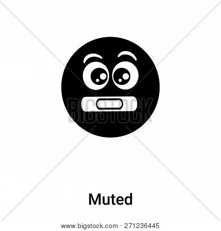 Muted Icon In Trendy Design Style. Muted Icon Isolated On White Background. Muted Vector Icon Simple